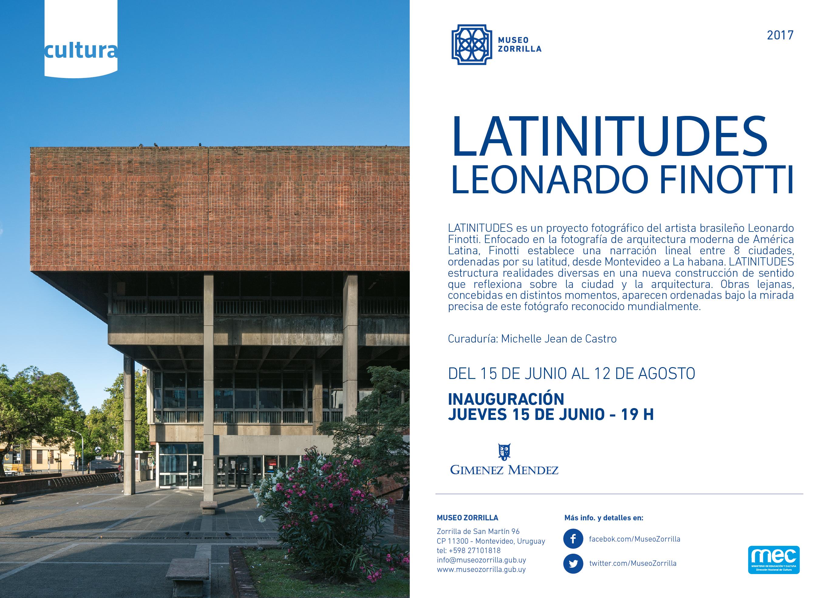 Invitación exposición Latinitudes