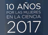 Leyenda: 10 años por las mujeres en la ciencia