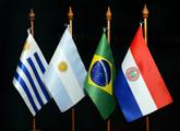 Fotos de banderas del Mercosur