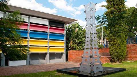 Fachada de Artes Visuales