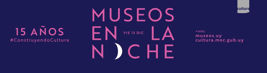 Convocatorias para Museos en la Noche