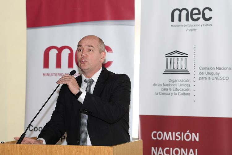 Nicolás Pons durante la rendición.