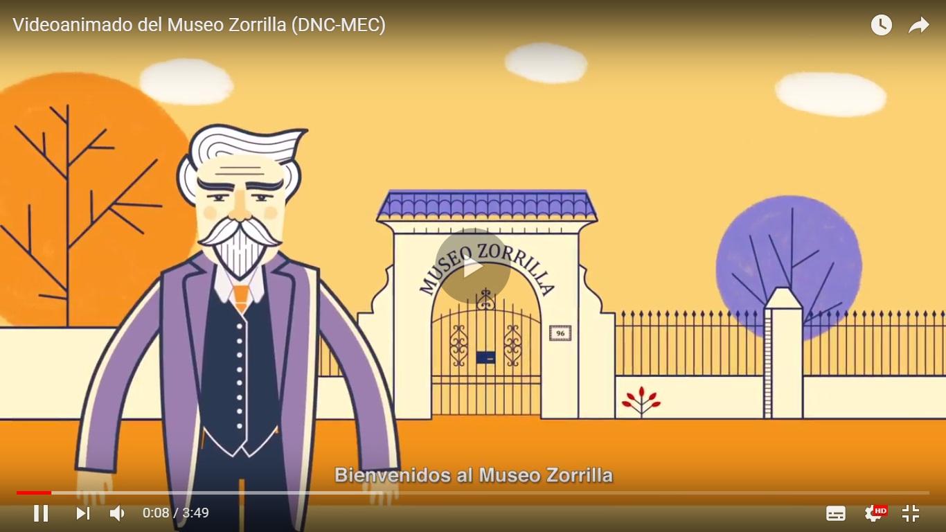 Animación de Zorrilla de San Martín